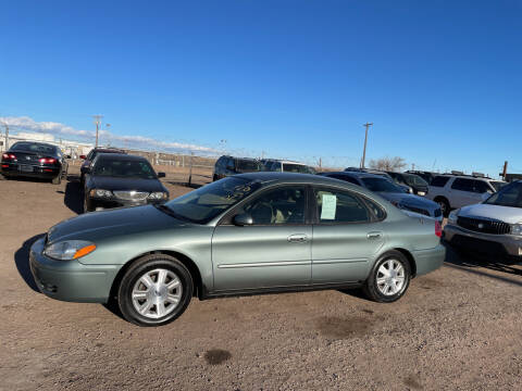 2007 Ford Taurus for sale at PYRAMID MOTORS - Fountain Lot in Fountain CO
