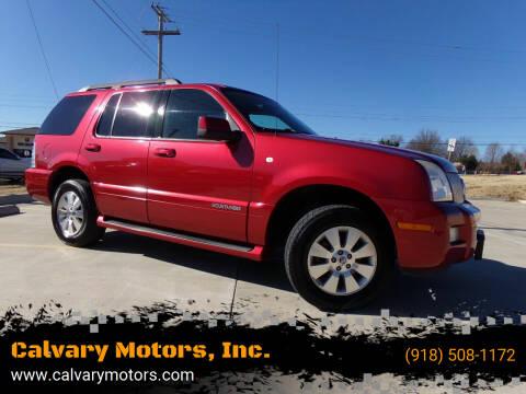 2007 Mercury Mountaineer for sale at Calvary Motors, Inc. in Bixby OK