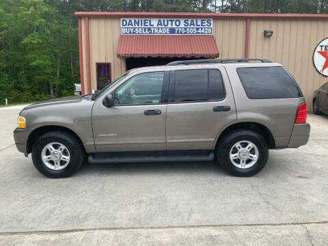 2004 Ford Explorer for sale at Daniel Used Auto Sales in Dallas GA