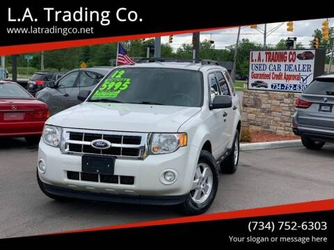 2012 Ford Escape for sale at L.A. Trading Co. in Woodhaven MI