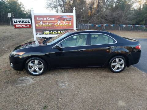 2012 Acura TSX for sale at Super Sport Auto Sales in Hope Mills NC