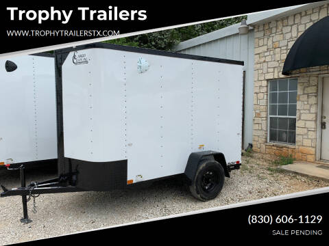 2021 CARGO CRAFT 5X10 RAMP for sale at Trophy Trailers in New Braunfels TX
