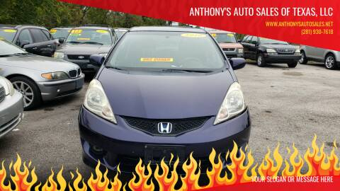 2010 Honda Fit for sale at Anthony's Auto Sales of Texas, LLC in La Porte TX