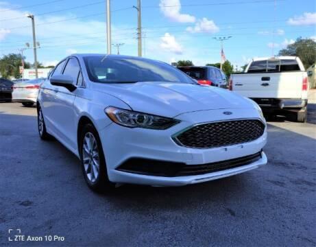 2017 Ford Fusion for sale at Start Auto Liquidation Center in Miramar FL