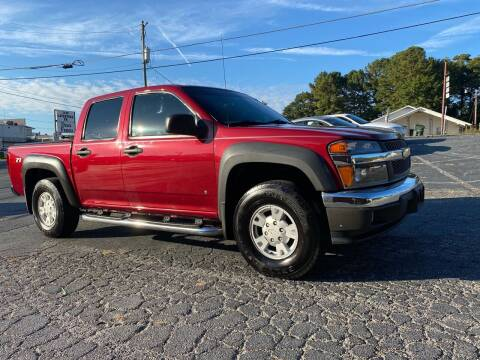 2006 Chevrolet Colorado for sale at GTO United Auto Sales LLC in Lawrenceville GA