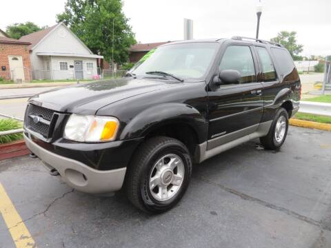 2001 Ford Explorer Sport for sale at Bells Auto Sales in Hammond IN
