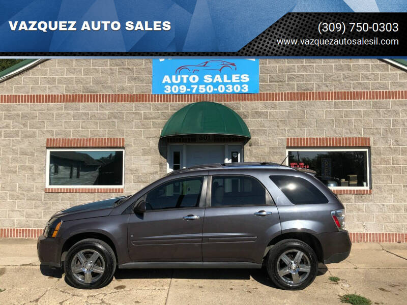 2008 Chevrolet Equinox for sale at VAZQUEZ AUTO SALES in Bloomington IL