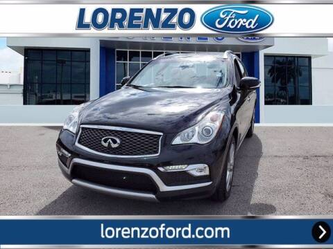2017 Infiniti QX50 for sale at Lorenzo Ford in Homestead FL