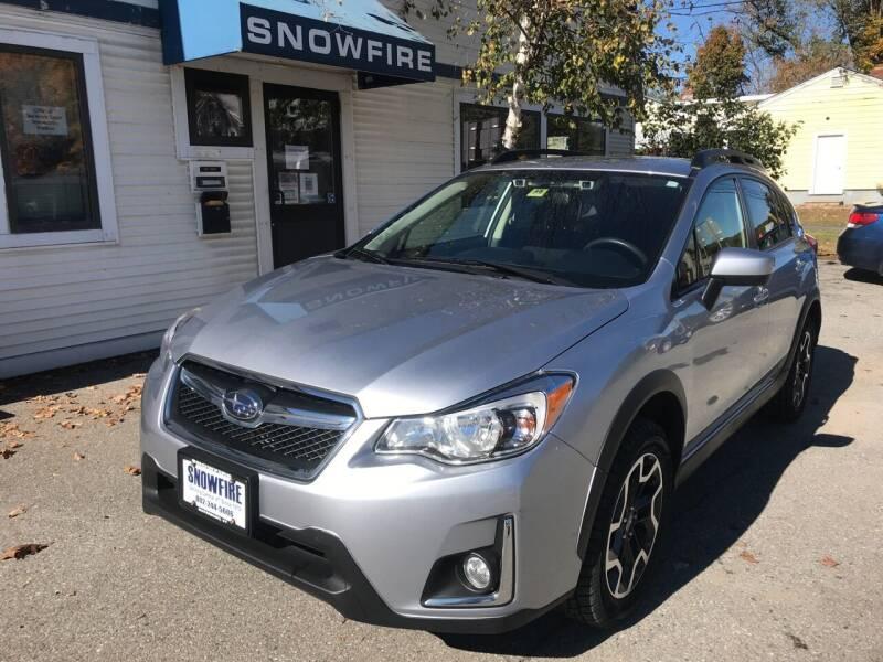 2017 Subaru Crosstrek for sale at Snowfire Auto in Waterbury VT
