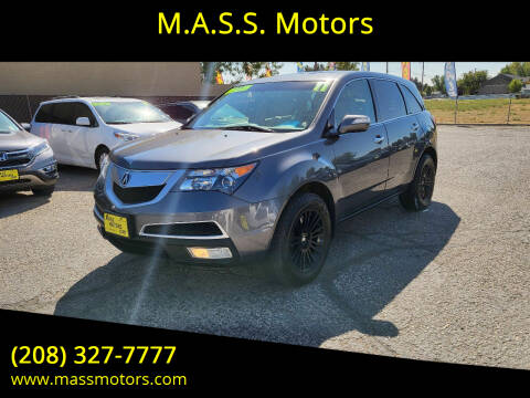 2011 Acura MDX for sale at M.A.S.S. Motors in Boise ID