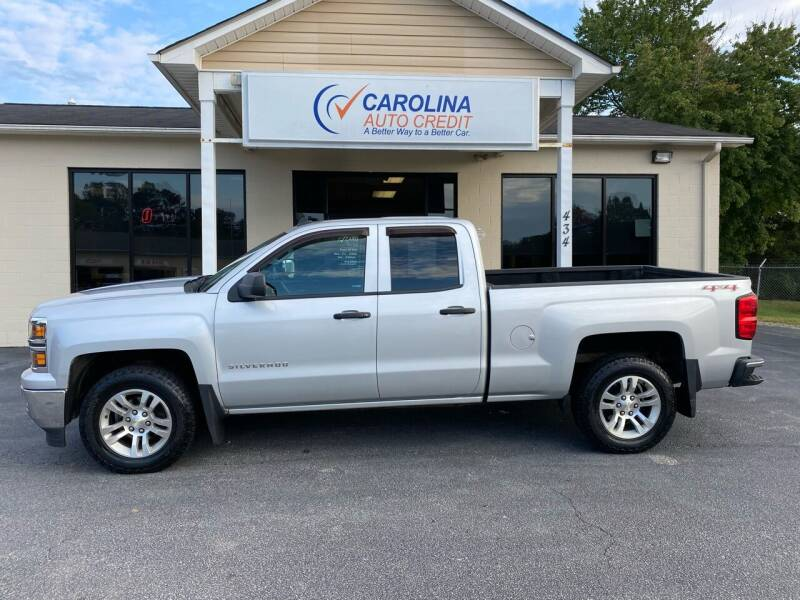 2014 Chevrolet Silverado 1500 for sale at Carolina Auto Credit in Youngsville NC