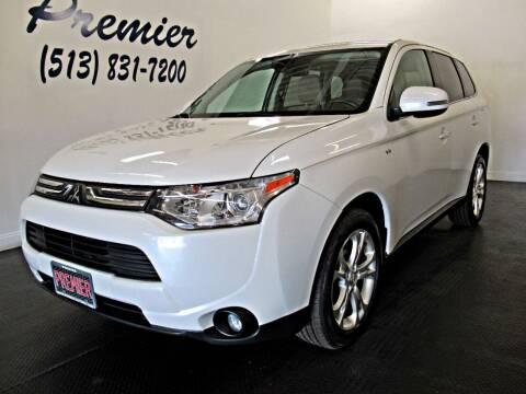 2014 Mitsubishi Outlander for sale at Premier Automotive Group in Milford OH