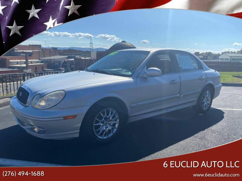 2003 Hyundai Sonata for sale at 6 Euclid Auto LLC in Bristol VA