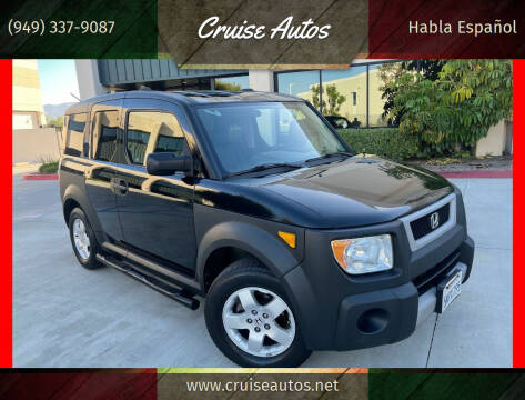 2005 Honda Element for sale at Cruise Autos in Corona CA