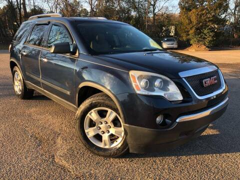 2009 GMC Acadia for sale at The Auto Depot in Raleigh NC