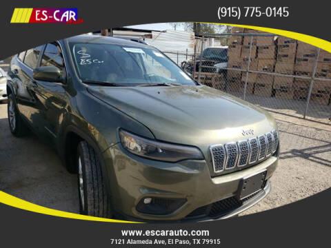 2019 Jeep Cherokee for sale at Escar Auto in El Paso TX