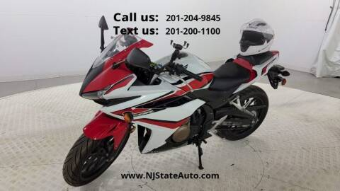 2018 Honda CBR 500 for sale at NJ State Auto Used Cars in Jersey City NJ