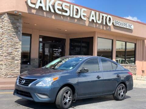 2016 Nissan Versa for sale at Lakeside Auto Brokers Inc. in Colorado Springs CO
