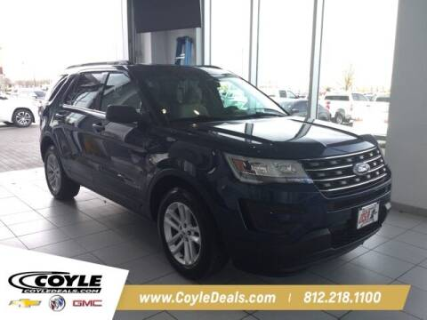 2017 Ford Explorer for sale at COYLE GM - COYLE NISSAN in Clarksville IN