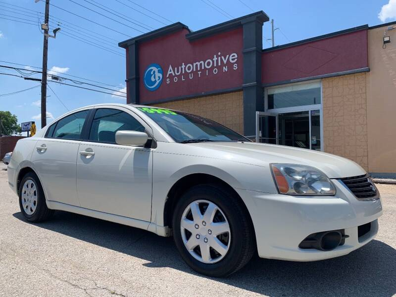 2009 Mitsubishi Galant for sale at Automotive Solutions in Louisville KY