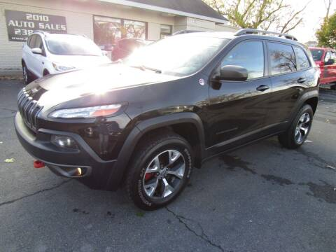 2014 Jeep Cherokee for sale at 2010 Auto Sales in Troy NY