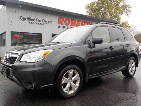 2014 Subaru Forester for sale at Roberti Automotive in Kingston NY