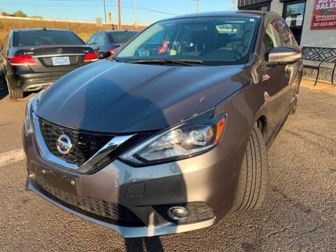 2017 Nissan Sentra for sale at Luxury Unlimited Auto Sales Inc. in Trevose PA