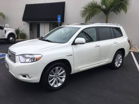 2010 Toyota Highlander Hybrid for sale at MANGIONE MOTORS ORANGE COUNTY in Costa Mesa CA