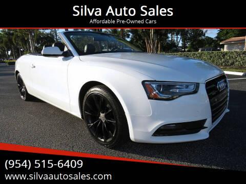 2014 Audi A5 for sale at Silva Auto Sales in Pompano Beach FL