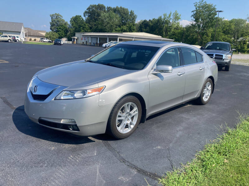 2010 Acura TL for sale at McCully's Automotive in Benton KY