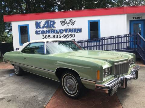 1974 Chevrolet Caprice for sale at Kar Connection in Miami FL