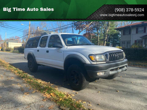2001 Toyota Tacoma for sale at Big Time Auto Sales in Vauxhall NJ