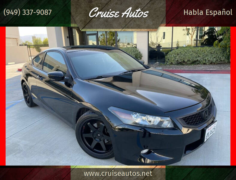 2010 Honda Accord for sale at Cruise Autos in Corona CA