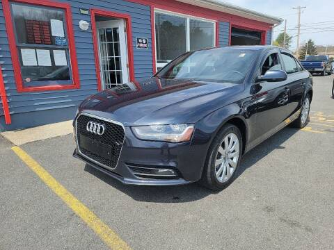 2014 Audi A4 for sale at Top Quality Auto Sales in Westport MA