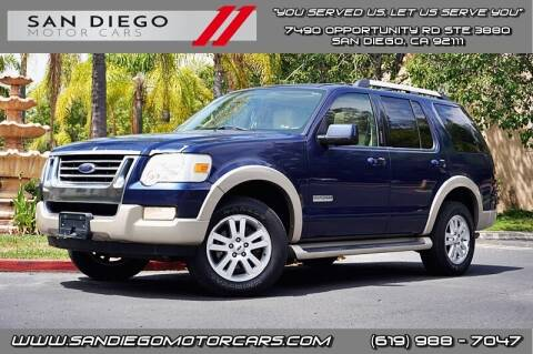 2006 Ford Explorer for sale at San Diego Motor Cars LLC in San Diego CA