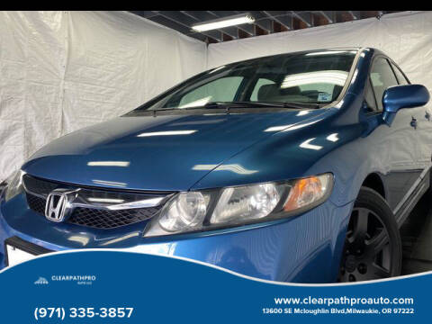 2009 Honda Civic for sale at CLEARPATHPRO AUTO in Milwaukie OR