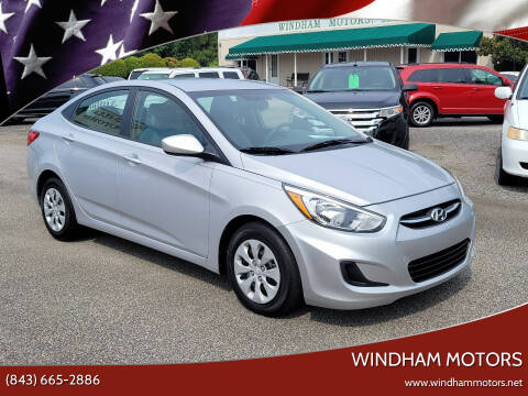 2017 Hyundai Accent for sale at Windham Motors in Florence SC