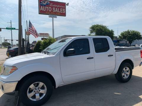 2010 Nissan Frontier for sale at SP Enterprise Autos in Garland TX