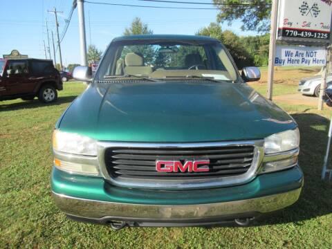2000 GMC Sierra 1500 for sale at Dallas Auto Mart in Dallas GA