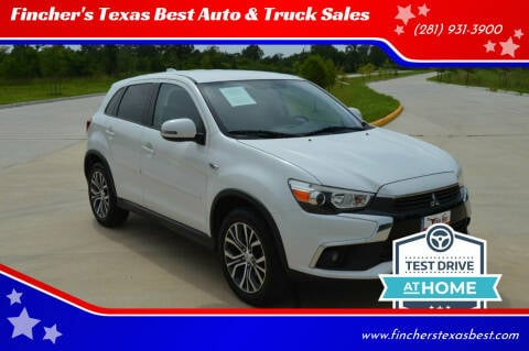 2017 Mitsubishi Outlander Sport for sale at Fincher's Texas Best Auto & Truck Sales in Tomball TX
