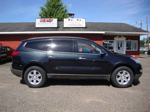 2012 Chevrolet Traverse for sale at G and G AUTO SALES in Merrill WI