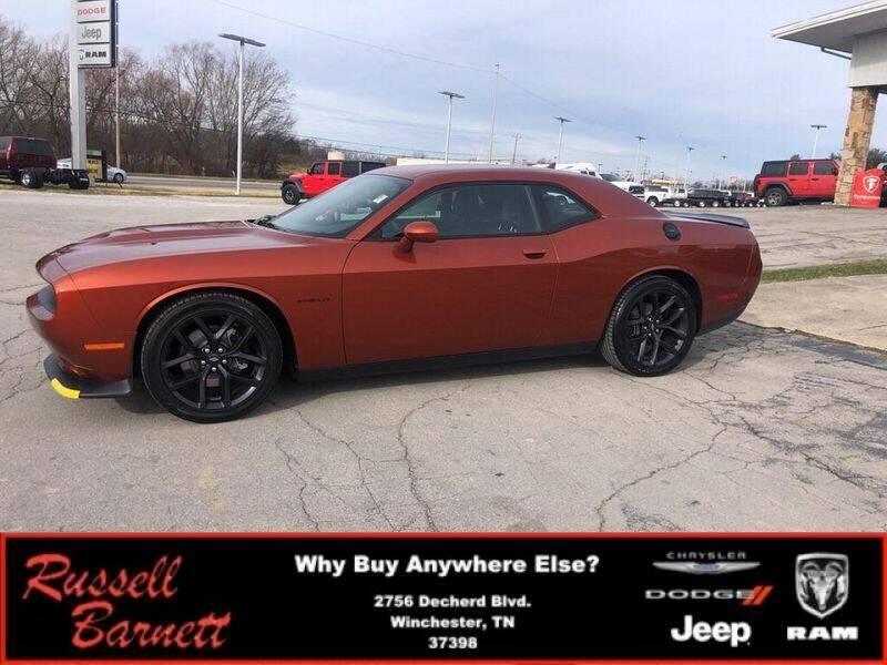 2021 Dodge Challenger for sale at Russell Barnett Chrysler Dodge Jeep Ram in Winchester TN