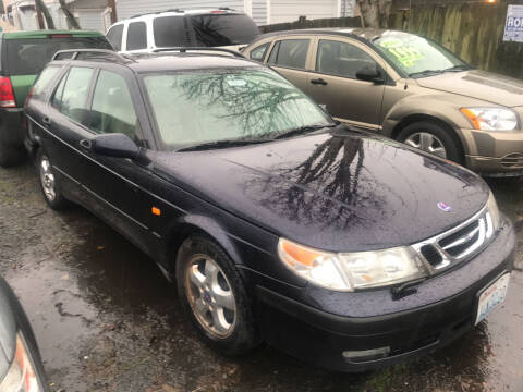 1999 Saab 9-5 for sale at American Dream Motors in Everett WA