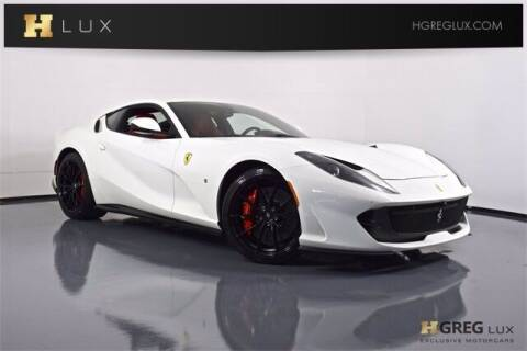 2019 Ferrari 812 Superfast for sale at HGREG LUX EXCLUSIVE MOTORCARS in Pompano Beach FL