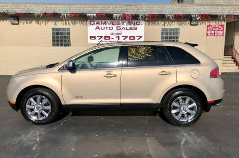 2007 Lincoln MKX for sale at Camvest Inc. Auto Sales in Depew NY