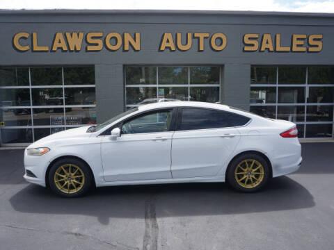 2014 Ford Fusion for sale at Clawson Auto Sales in Clawson MI