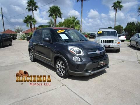 2014 FIAT 500L for sale at HACIENDA MOTORS, LLC in Brownsville TX