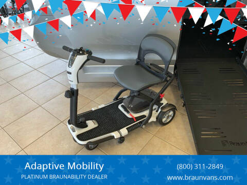 2019 Pride Mobility GoGo Folding Scooter Lithium for sale at Adaptive Mobility Wheelchair Vans in Seekonk MA