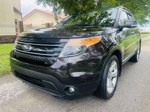 2014 Ford Explorer for sale at Imperial Capital Cars Inc in Miramar FL