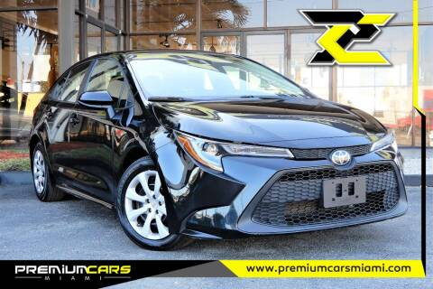 2020 Toyota Corolla for sale at Premium Cars of Miami in Miami FL